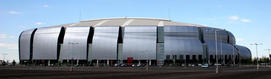 University of Phoenix Stadium, architect Peter Eisenman
