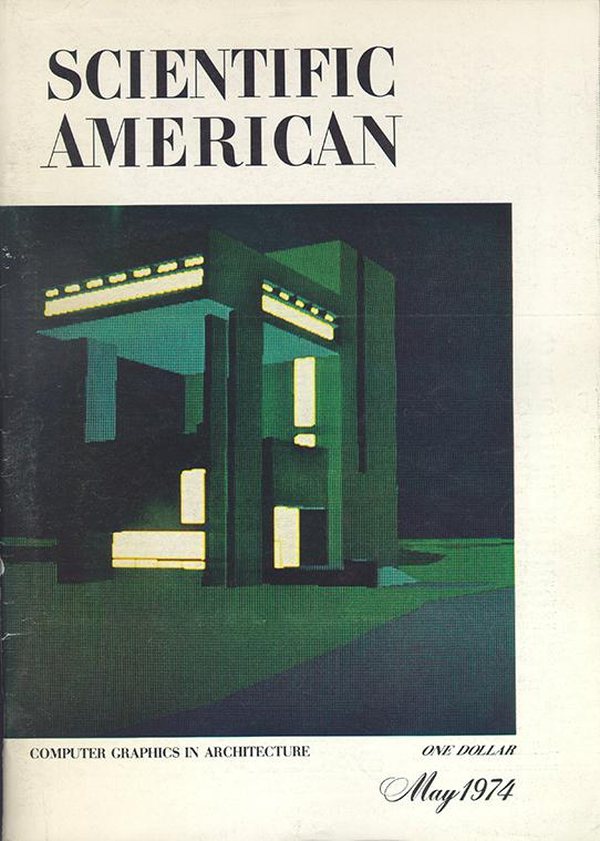 cover of Scientific American magazine from May 1974
