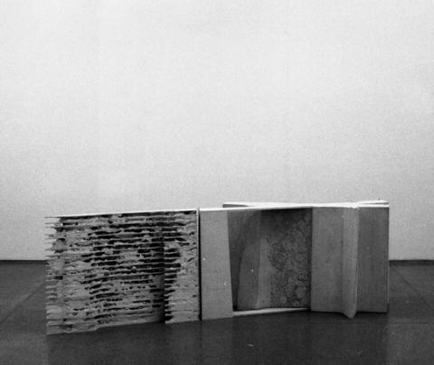 Plaster casts, from the series Colonnofagia and the Dissolution of the Wall