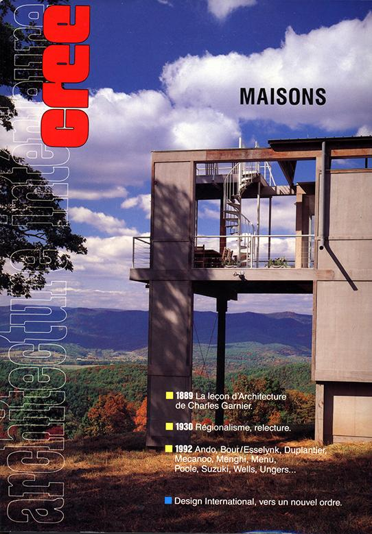 cover of French architecture magazine