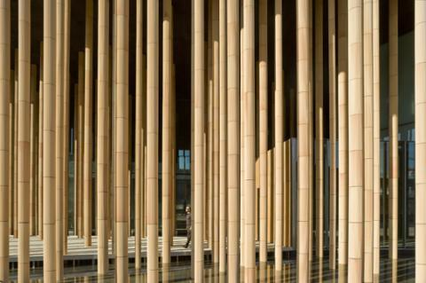 Work by Mangado at the Zaragoza Architecture Expo