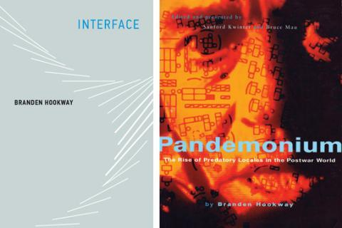 Two book cover images