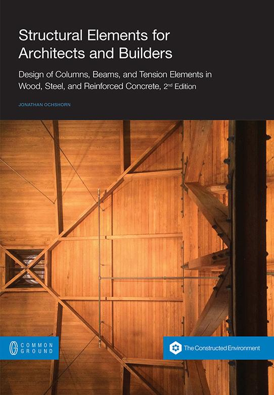 book cover for structural elements for architects and builders