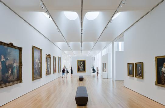 Interior space od the North Carolina Museum of Art | Baan