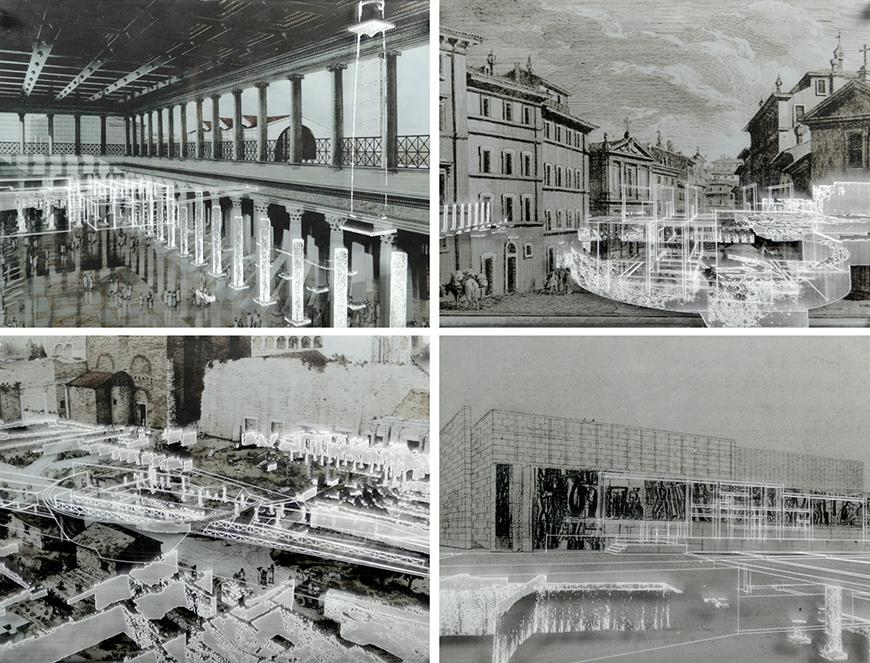 Rendering of Roma Riconnessa by Juan Carlos Artolozaga
