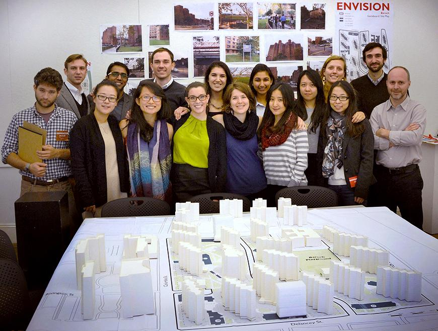 The Urban Design studio participants at the completion of their final review of Envision Baruch.