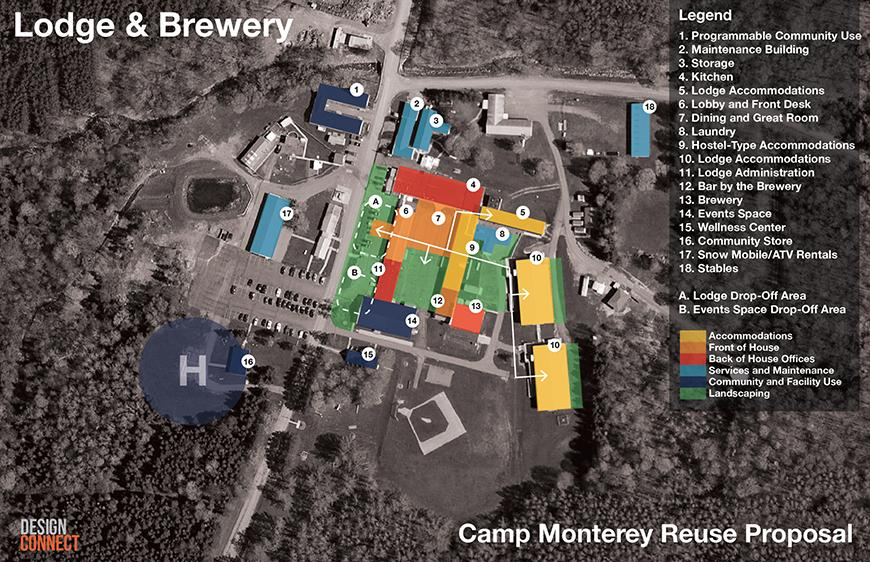 Lodge and brewery site proposal