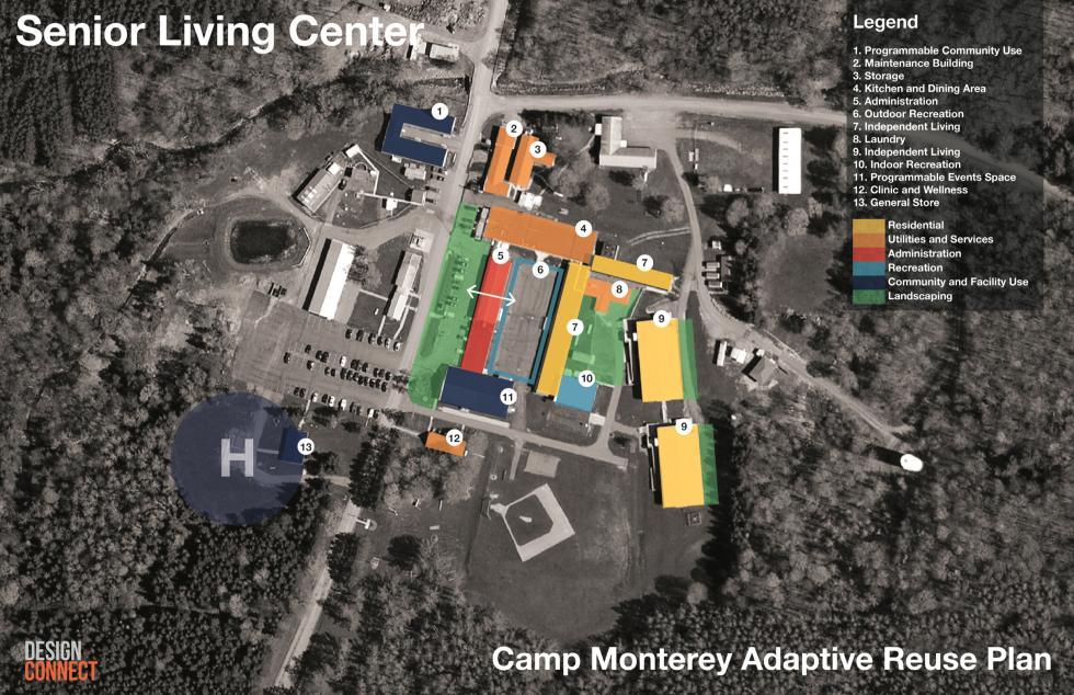 Senior living center site proposal