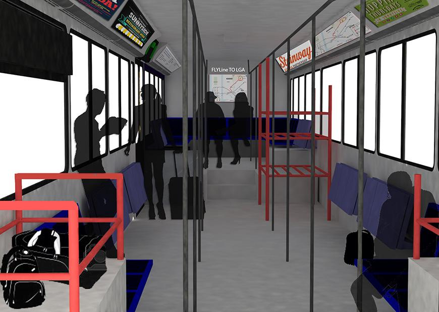 Rendering for Interior Bus Redesign