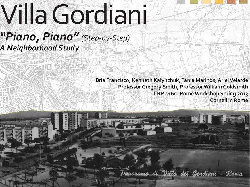 Italian village of Gordiani