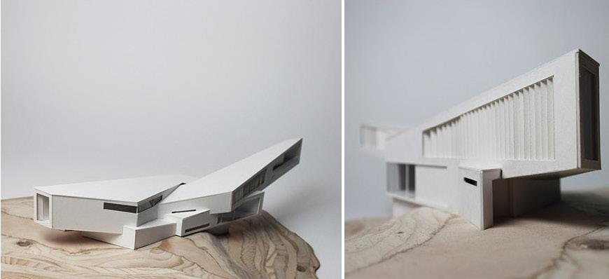 Two views of final model.