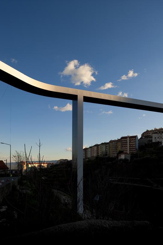 Pedestrian Bridge, Covilhã, Portugal