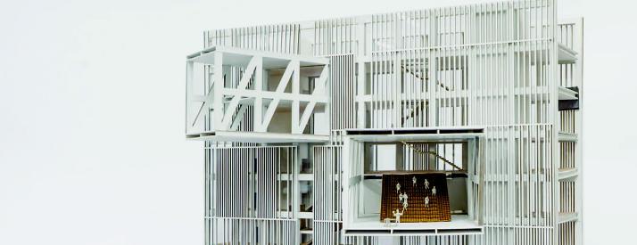 Model of multistory building