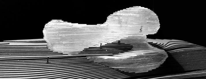 rendering of multilevel building