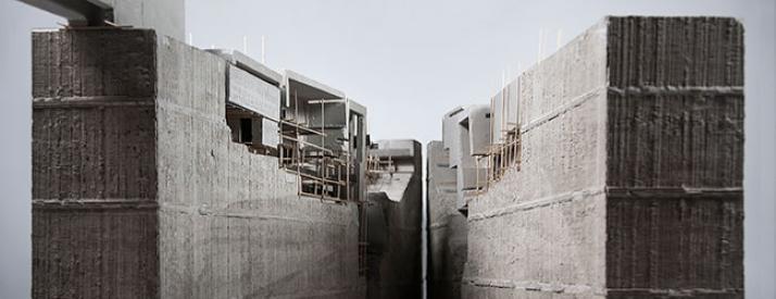 Mostly concrete model