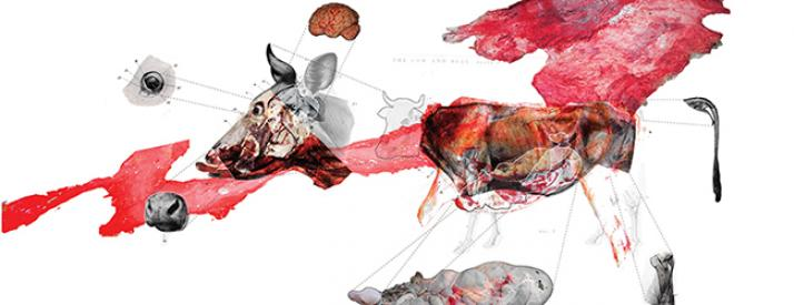 Work from Meat Culture: Censored Spaces and Radical Alternatives
