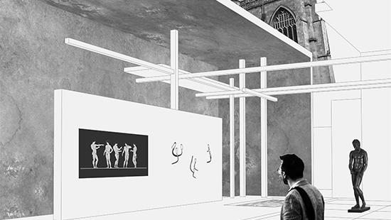 Ancient roman strigil museum cornell aap for Cornell interior design undergraduate